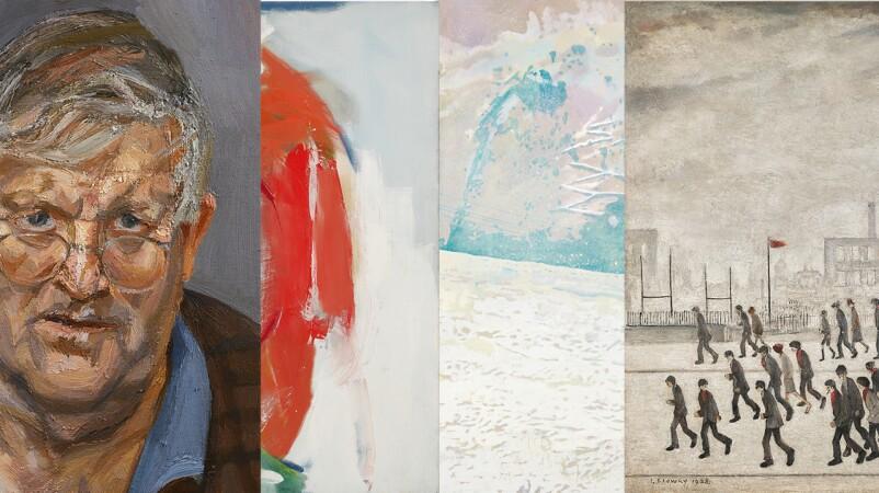 Freud, Hockney and Lowry Lead Celebration of British Art