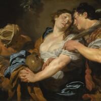 8. johann liss | the temptation of saint mary magdalene