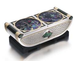 448. 寶石鑲鑽石盒子, 卡地亞(cartier)