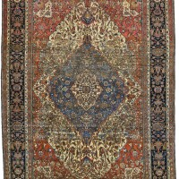 47. a kashan 'mohtasham' carpet, central persia