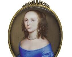 9. john hoskins   portrait of a lady