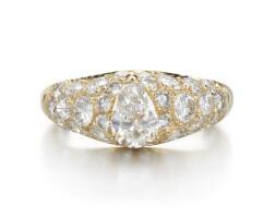 38. diamond ring, cartier