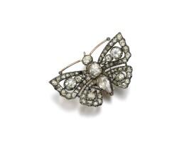 469. diamond brooch, late 18th century