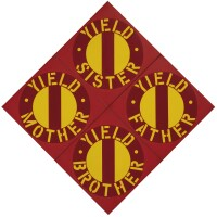 37. robert indiana   the red yield brother iv