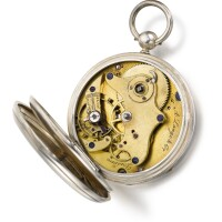 16. a. lange & co., dresden   an early silver open-faced keywound lever watchcirca 1849