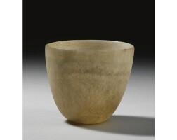 6. an alabaster jar, probably middle kingdom, 1987-1640 b.c.