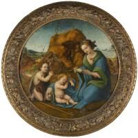 45. piero di cosimo   the madonna and sleeping christ child with the infant saint john the baptist