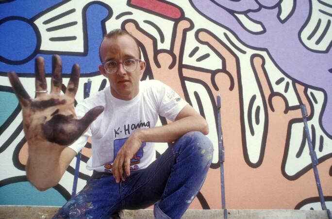 21 Facts: Tuttomondo, The Last Public Keith Haring Performance