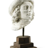 10. in 15th century stylehead of a man wearing a turban |