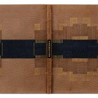 32. laboureur-giraudoux. promenade avec gabrielle, 1924. rel. de legrain. un des 14 sur chine avec suite sur chine.