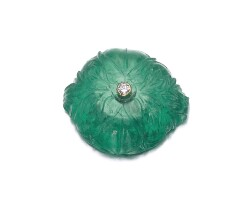 11. carved emerald
