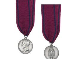 7. the silver reward medal struck for the prince of wales' visit to india, 1921-22