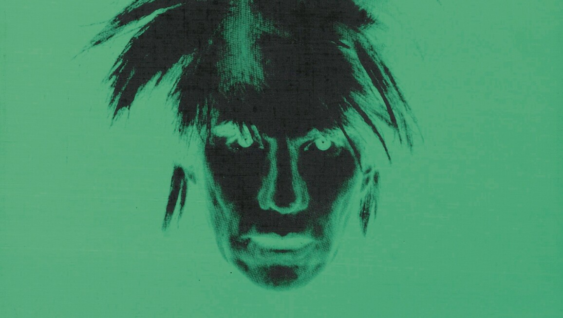 Andy Warhol Self Portrait screenprint