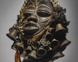 10. wè-guéré mask,côte d'ivoire
