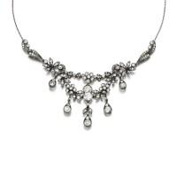 11. diamond necklace, late 19th century