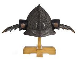 10. a momonari hoshi kabuto[helmet] momoyama period, late 16th century |