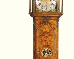 1. a walnut musical longcase clock, paulus bramer & son, amsterdam, circa 1750