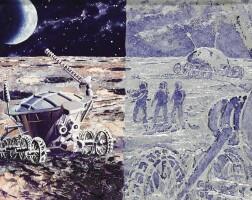 "10. sokolov, andrei. ""лунный марафонец"" [lunar ""marathon""], circa 1972"