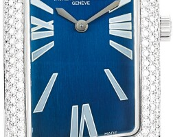 15. vacheron constantin | 1972 cambrée, reference 25510 a white gold and diamond-set wristwatch, circa 2011