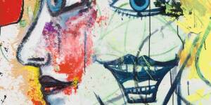 George Condo | Untitled (Artist and Muse)