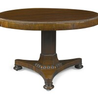 21. a late regency rosewood centre table, circa 1820