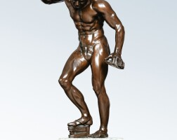 39. italian, late 19th / early 20th century, after the antiquedancing faun with cymbals |