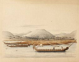 270. william fasken. illustrated manuscript memoir of a voyage to new zealand and australia in 1860-62, 2 vols