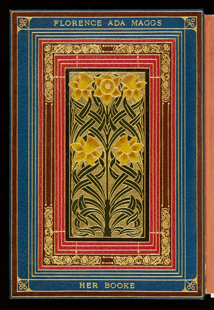 THE FLORENCE MAGGS CHRISTMAS BINDINGS FROM SANGORSKI AND SUTCLIFFE. Estimate £150,000-200,000.