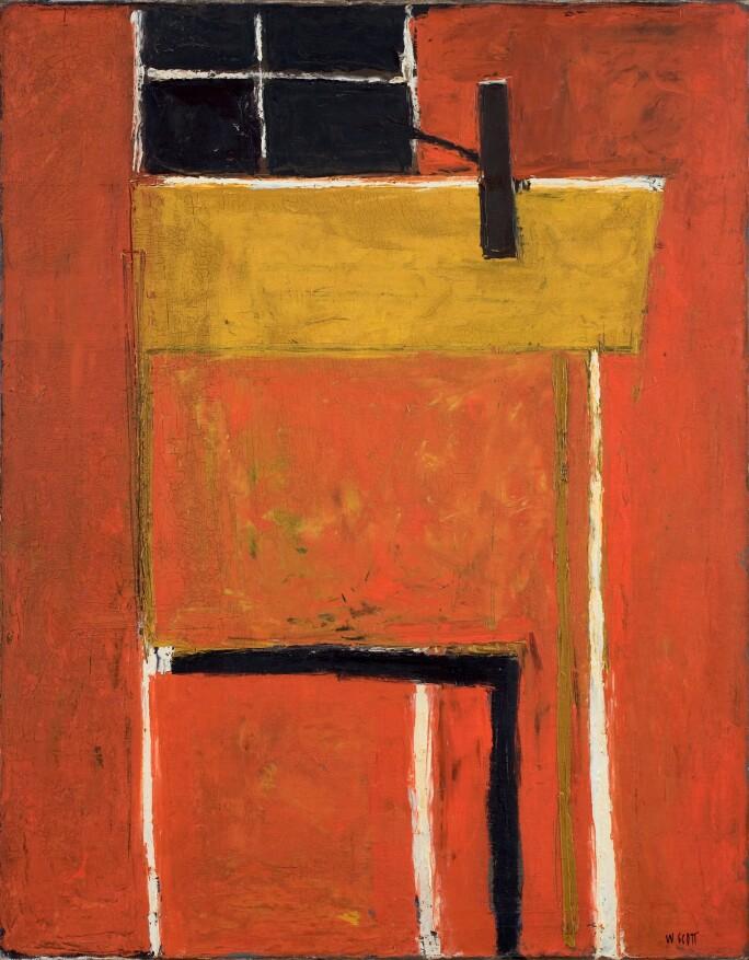William Scott, Red Interior, 1952 C William Scott Estate.jpg