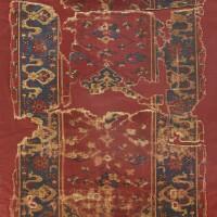 2. a 'star' oushak variant rug, west anatolia |