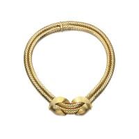 6. gold necklace, cartier, 1940s