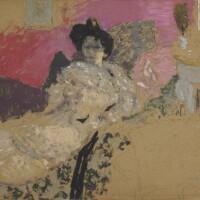 167. édouard vuillard   étude pour le portrait de madame delierre