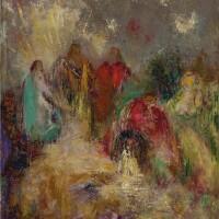 146. odilon redon | le christ et ses disciples