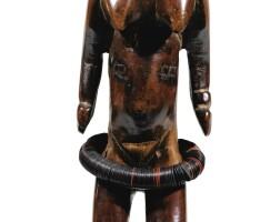 38. statuette, guro, côte d'ivoire |