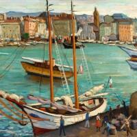 432. marcel dyf | marseille, le vieux port