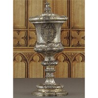 24. a royal german silver presentation cup, hintze, hamburg, circa 1852