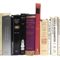 149. alibrary of various silver reference books and catalogues, various authors and publishing dates |