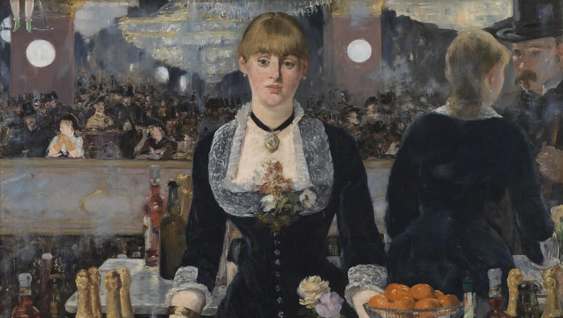 A Bar at the Folies-Bergère, Edouard Manet, 1882