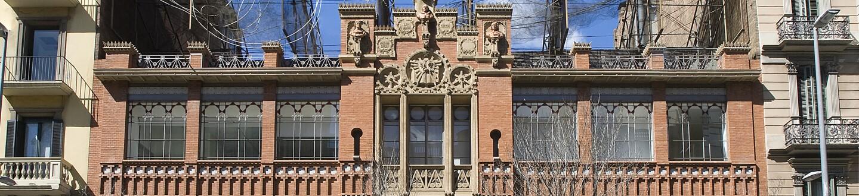 Exterior View, Fundació Antoni Tàpies, Barcelona