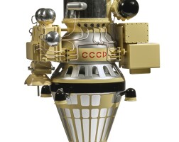 46. luna 9 automatic lunar station spacecraft model