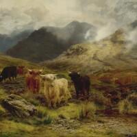 2. louis bosworth hurt, 1856-1929 | highland cattle