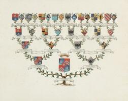1. the pourtalès-schickler's genealogical tree |