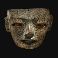 39. teotihuacan stone mask, classic, ca. a.d. 450-650
