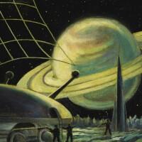 "8. sokolov, andrei. ""сатурн на титане"" [saturn on titan], circa 1959"