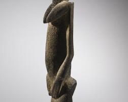 60. statue, dogon, mali