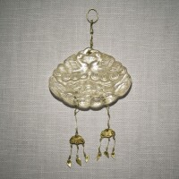 231. a rock crystal 'ducks and lotus' pendant liao dynasty |