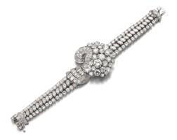 15. diamond bracelet, 1950s