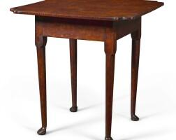 6043. queen anne walnuttavern table, pennsylvania, circa 1760