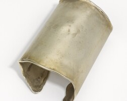 2. silver and gold vermeil plated cuff, shaun leane