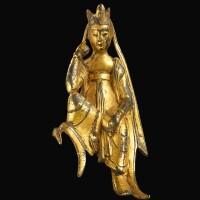 3626. 北齊 鎏金銅半跏思惟佛像 |
